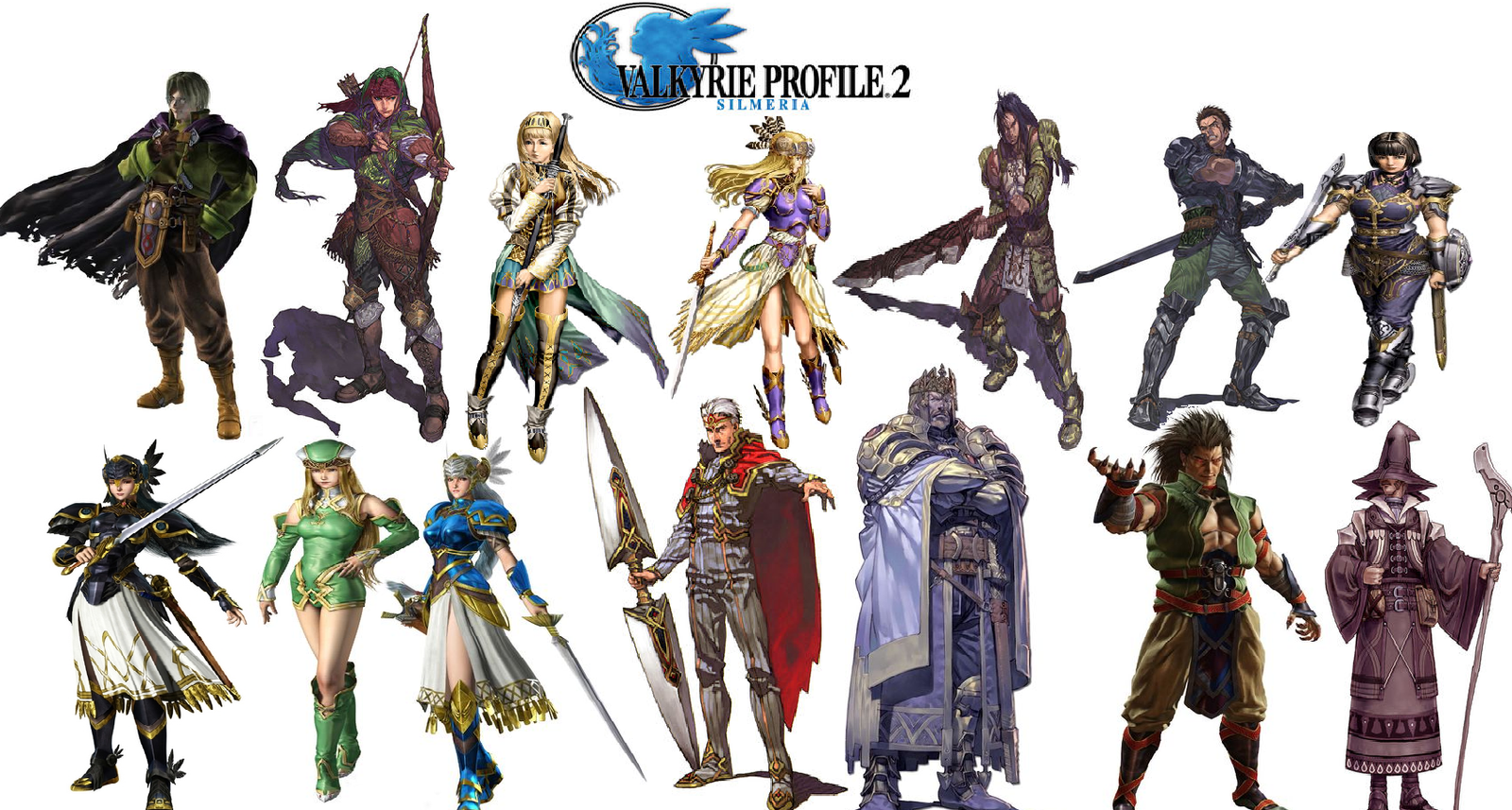 valkyrie profile 2 request by paperemonga on deviantart