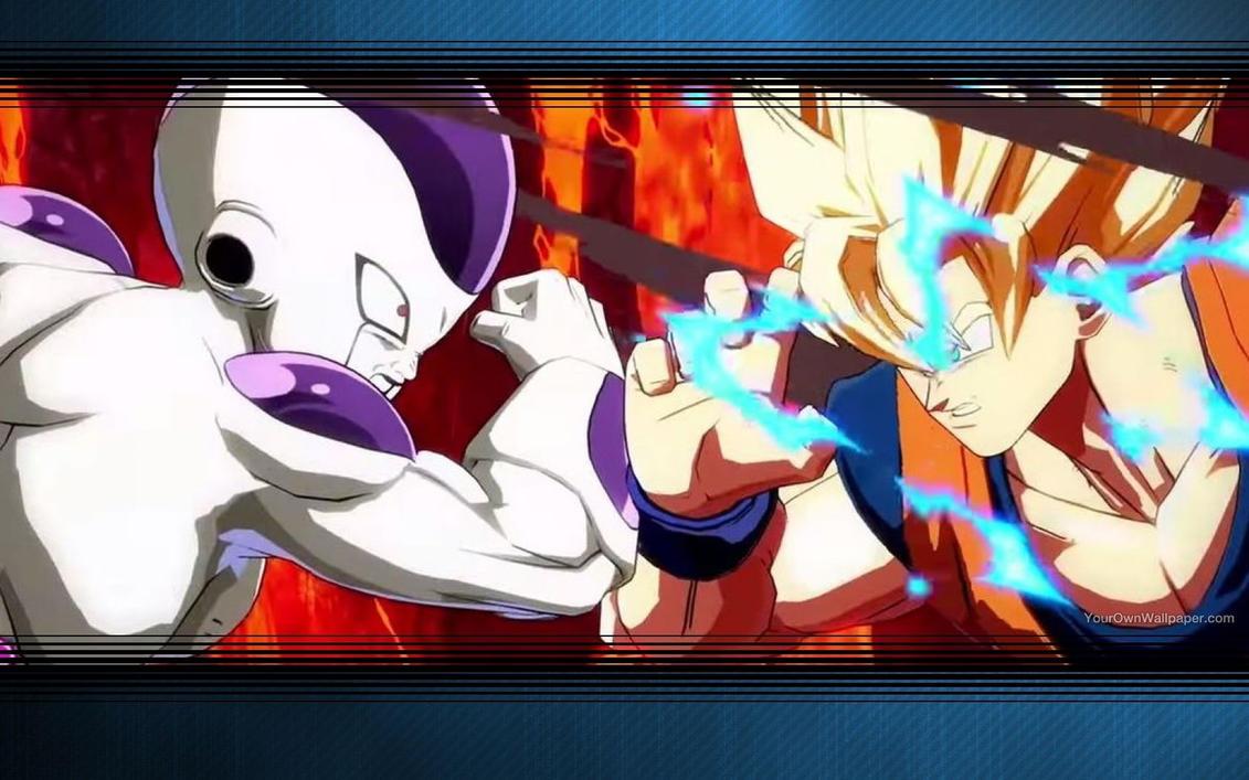 Dragon Ball FighterZ Frieza Vs Goku Wallpaper By PaperEmonga