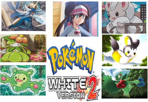 My Pokemon White 2 Team