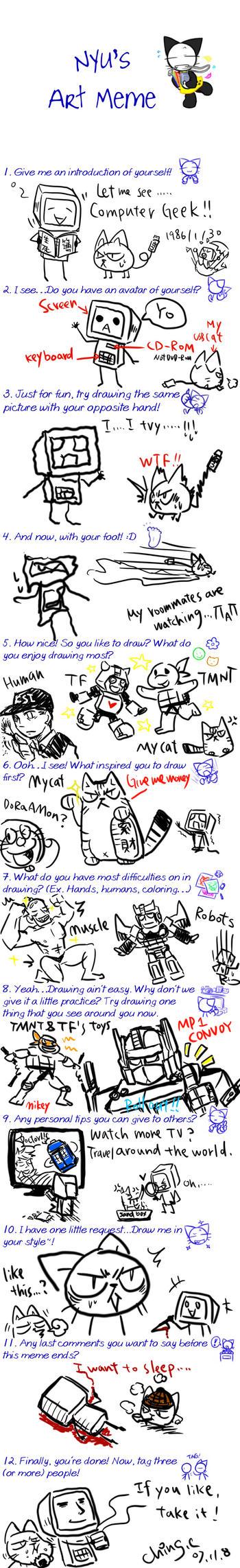 nyu's art meme by chingc