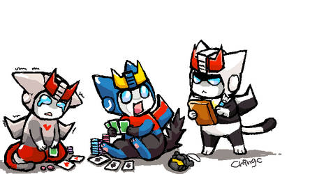 TF CATS They are gaming