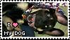 Love My Dog Stamp by Batnamz