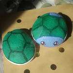 Shiny Squirtle - Painted Rocks