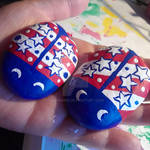 4th of July Lady Bugs