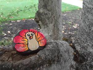 Turkey painted rock #2