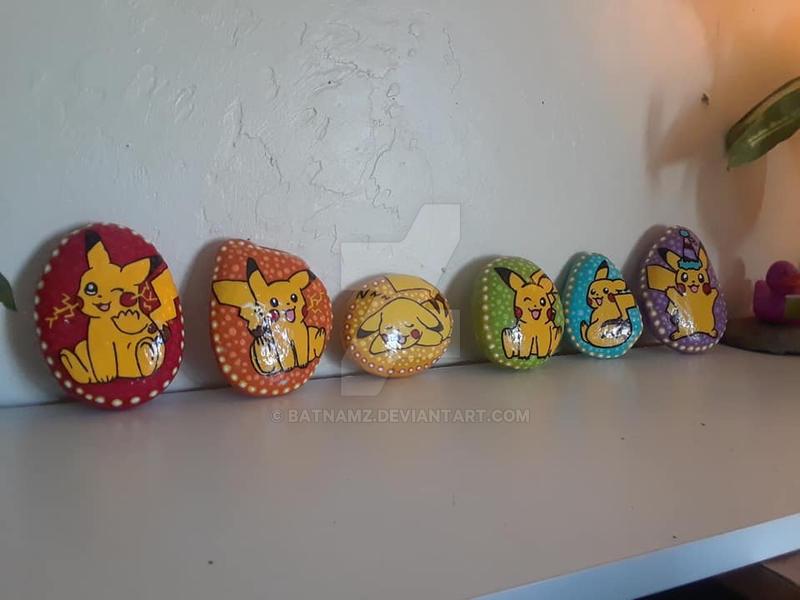 Pikachu rocks by Batnamz