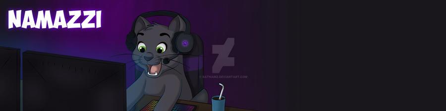 Gamer Kitty! by Batnamz