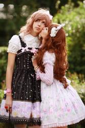 sweet lolita lovers by Iglaness