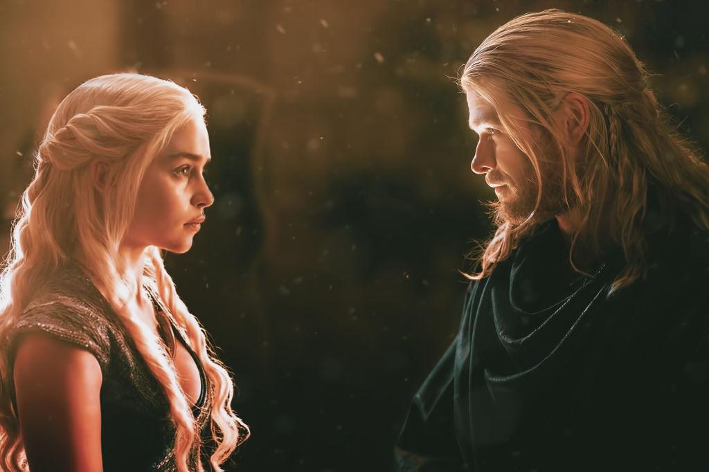 Thor Y Daenerys (Manip)