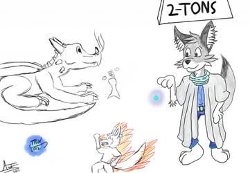 Random OC Doodles