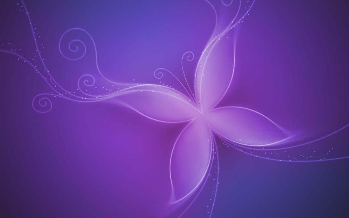Purple Butterfly Wallpaper By BlOntj