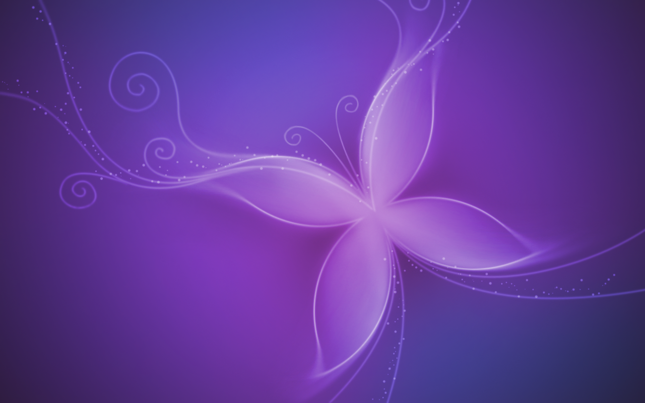 Purple Butterfly Wallpaper by blOntj