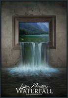 Living Paintings - Waterfall by blOntj