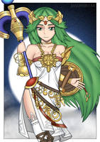 Palutena (Request by DaVonteWagner) by JasonBreak