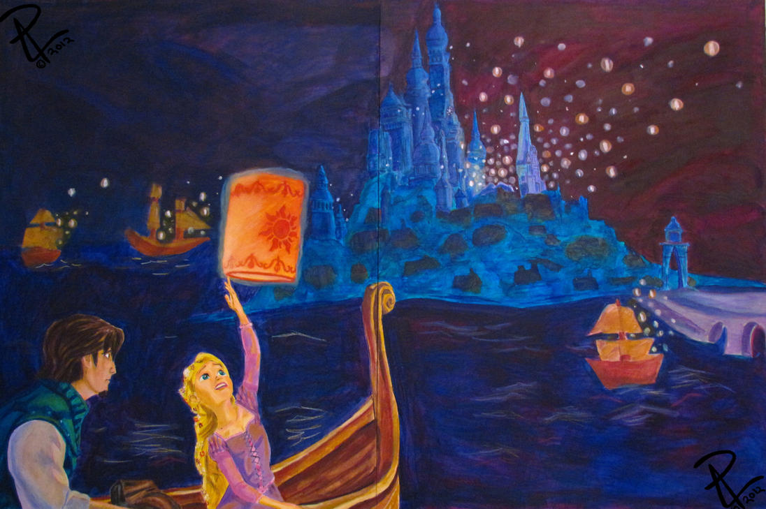 tangled mural by patrucca on deviantart