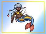 Jellyfish Merman by KRRose