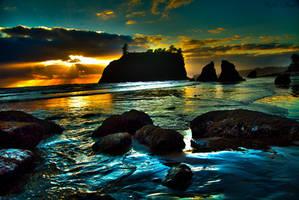 Ruby Beach by KylieFaye