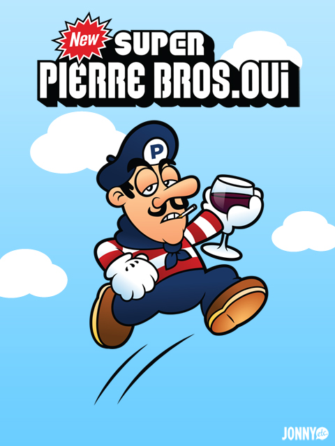 Super Pierre Bros. Oui by Jonnyetc