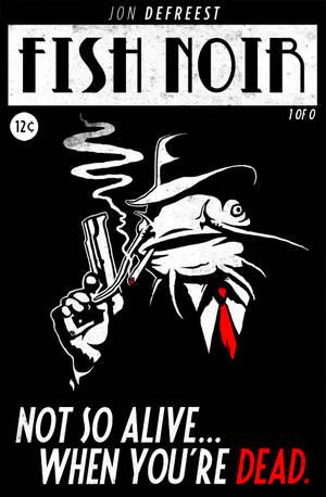 Fish Noir Comic Book Cover