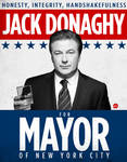 Jack Donaghy for Mayor Poster