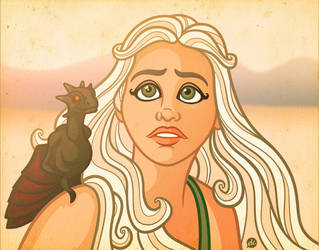 Mother of Dragons by Jonnyetc