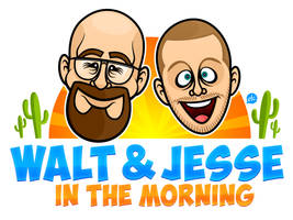 Walt and Jesse in the Moooooorrrrning!
