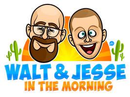 Walt and Jesse in the Moooooorrrrning!
