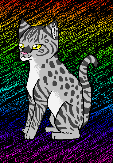 Sittin' Pretty by Leopardshadow003
