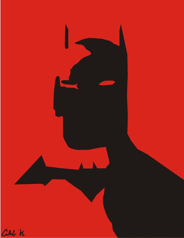 Batman Vector Image by Teamantisocial on DeviantArt