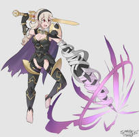 Nohrian Noble Corrin Dragon Lunge Commission by SarukaiWolf