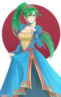 Lyn: Wind's Embrace by SarukaiWolf