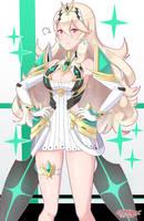 Mythra's Spirit x Corrin by SarukaiWolf