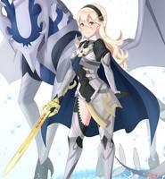 Corrin, Feral Dragon by SarukaiWolf