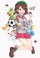 Pokemon Gen 8 by SarukaiWolf