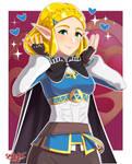 Short Hair Zelda