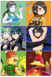 Super Smash Ultimate Gals (3/3)