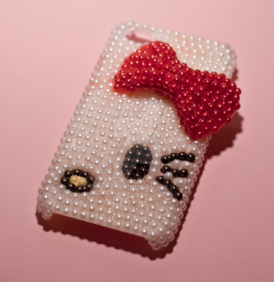 hot sale online 2068a a7563 Hello Kitty cell phone case by minimojen on DeviantArt