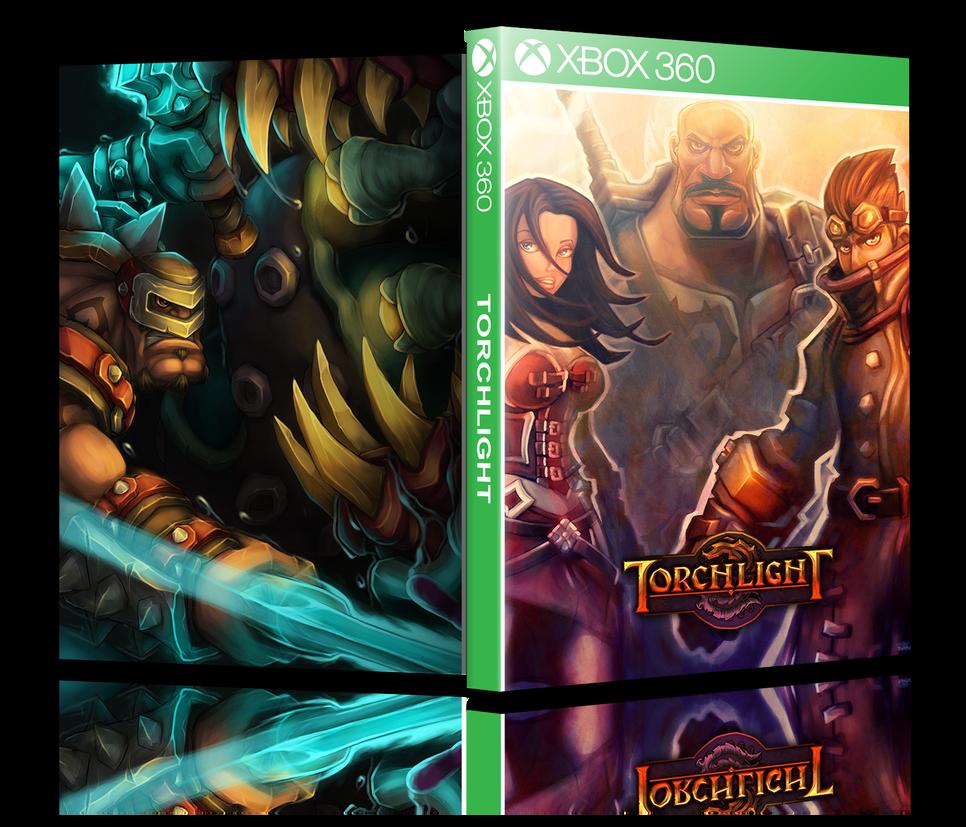 Torchlight Cover Art - Xbox 360 by Kaadu554 on DeviantArt