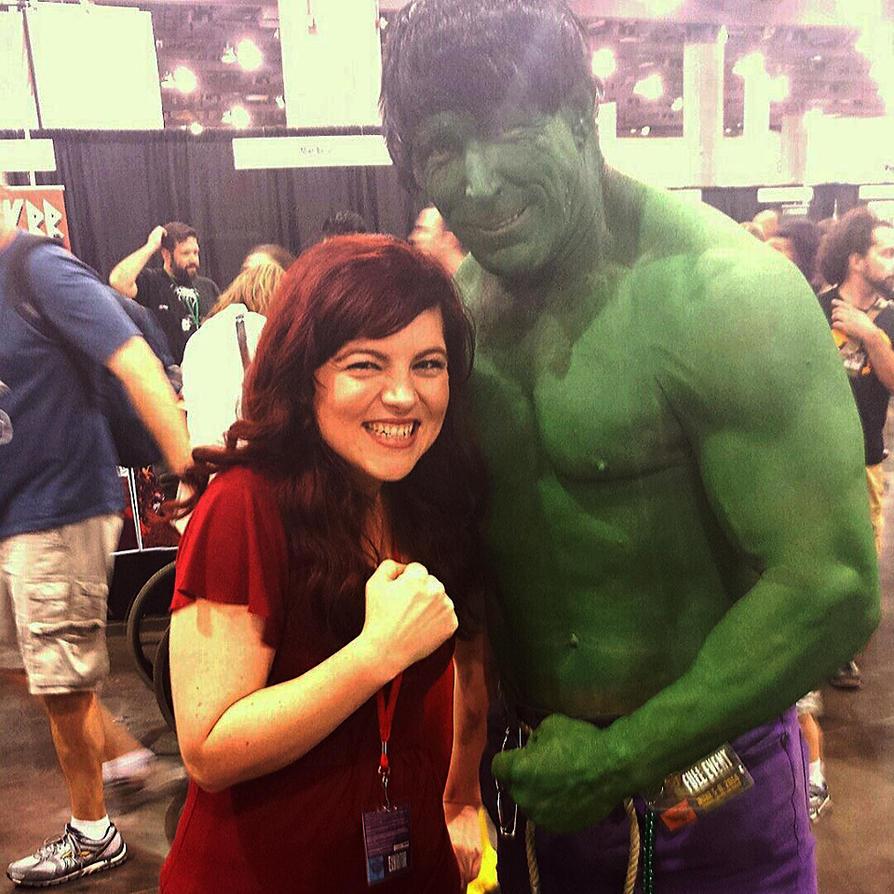 Hulking it out by Chrystal-Phoenix