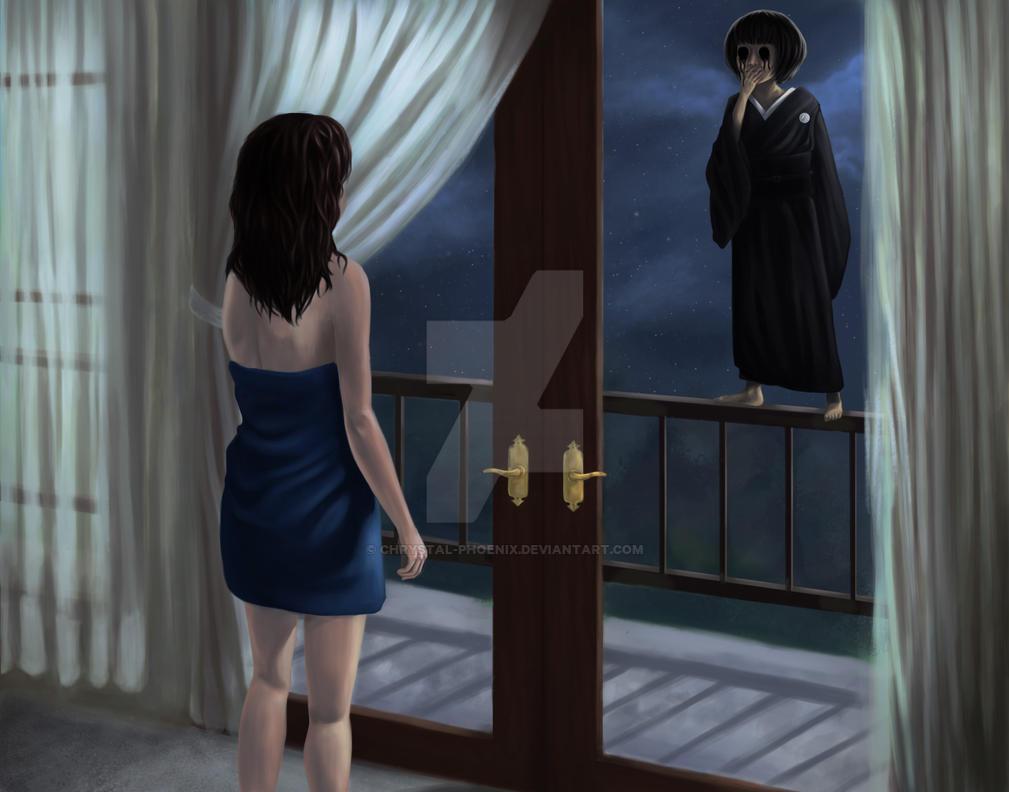 Celeste sees her reflection by Chrystal-Phoenix