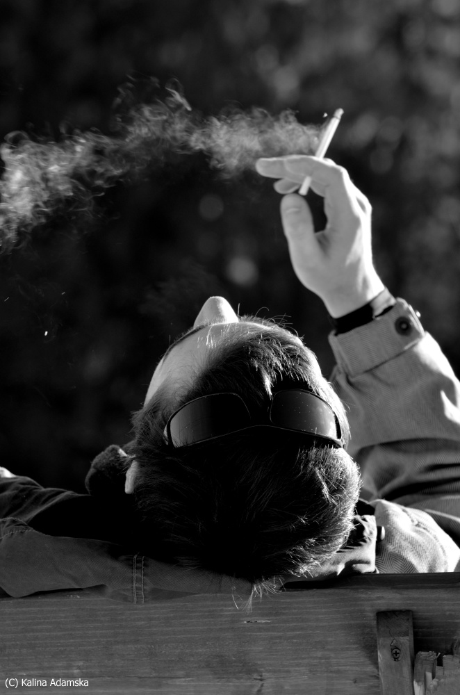 cigarette... by MlleKalina