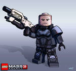 Lego Minifig Concepts: Shepard