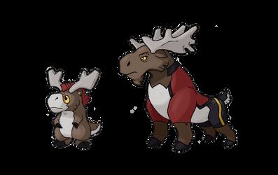 Mountain Moose