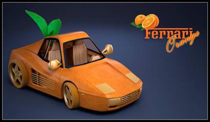 Ferrari Orange