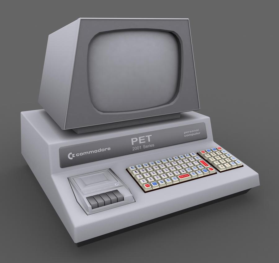 Commodore PET by milenplus on DeviantArt