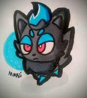 Shiny Zorua!! by 0Marazi0