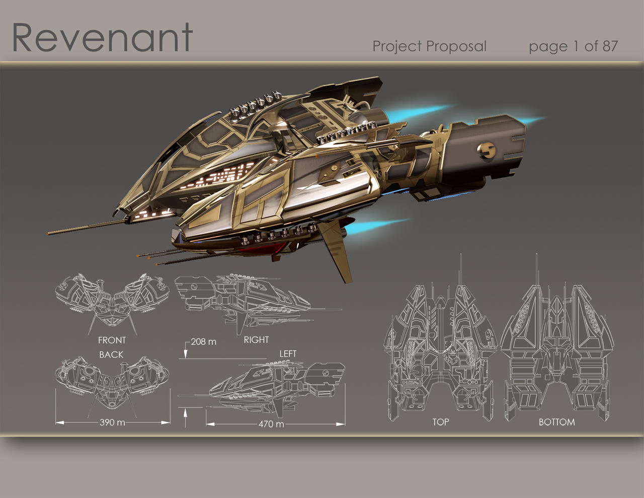 Revenant - EvE Online Contest by Origim