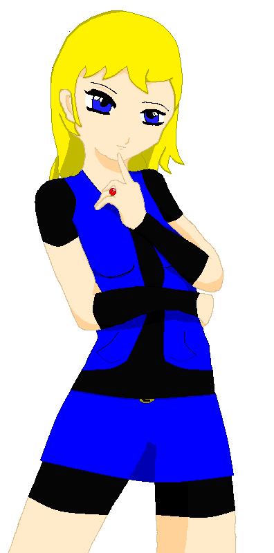 Jill (Princess Pose) by SmashTrainer