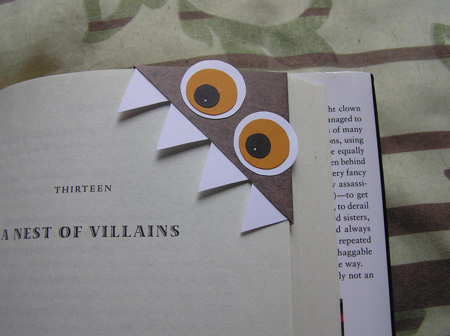 Monster Bookmark by lavadragon