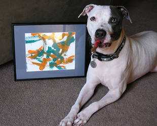 Domino the Artist II by lavadragon